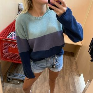 Urban Outfitters Sweaters - Stripped oversized sweater